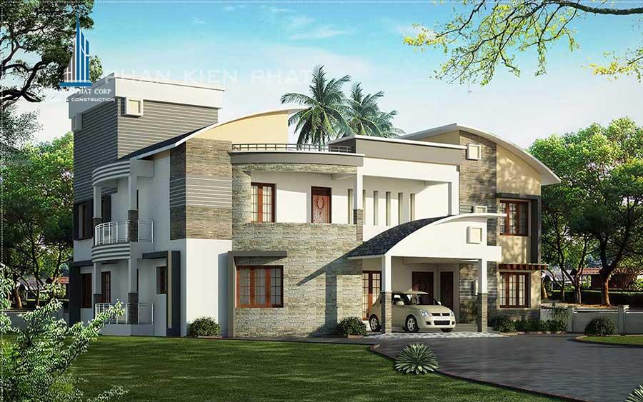 Công trình, Thiết kế xây dựng biệt thự, Anh Nguyễn Thành An