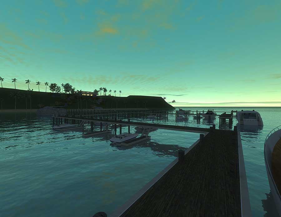 Thiết kế biệt thự ven núi - Đường đi xuống biển