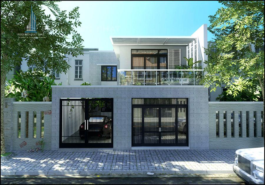 Công trình, Thiết kế xây dựng biệt thự, Chị Thái Lan Anh