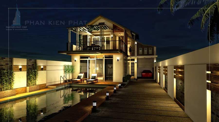 Công trình, Thiết kế xây dựng biệt thự, Anh Trần Đại Nam