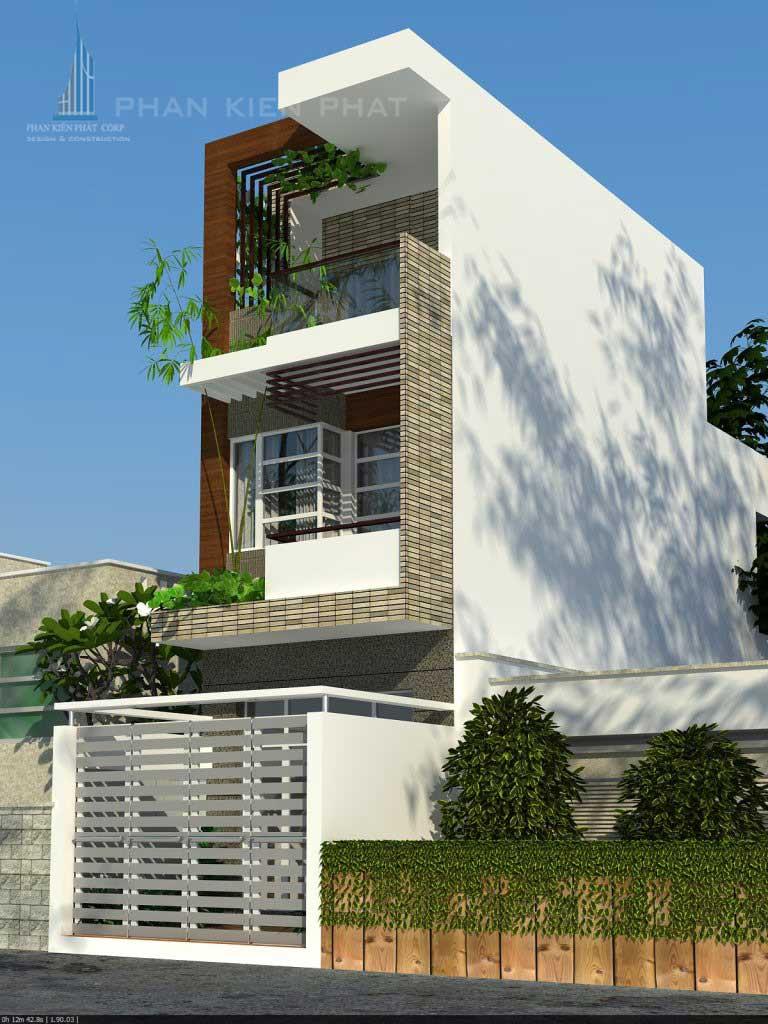 Nhà đẹp 3 tầng phong thủy