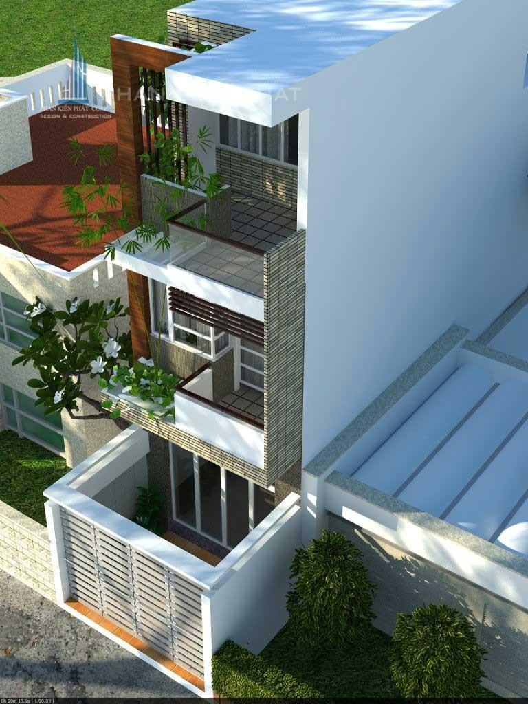 Thiết kế nhà đẹp phong thủy