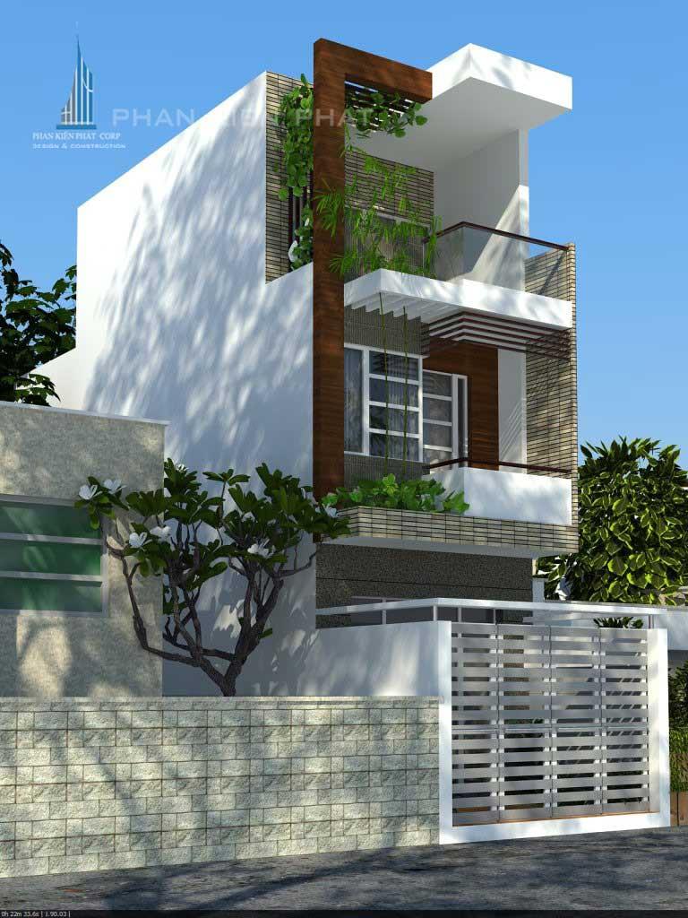 Công trình, Thiết kế xây dựng nhà phố, Anh Nguyễn Minh Chiến