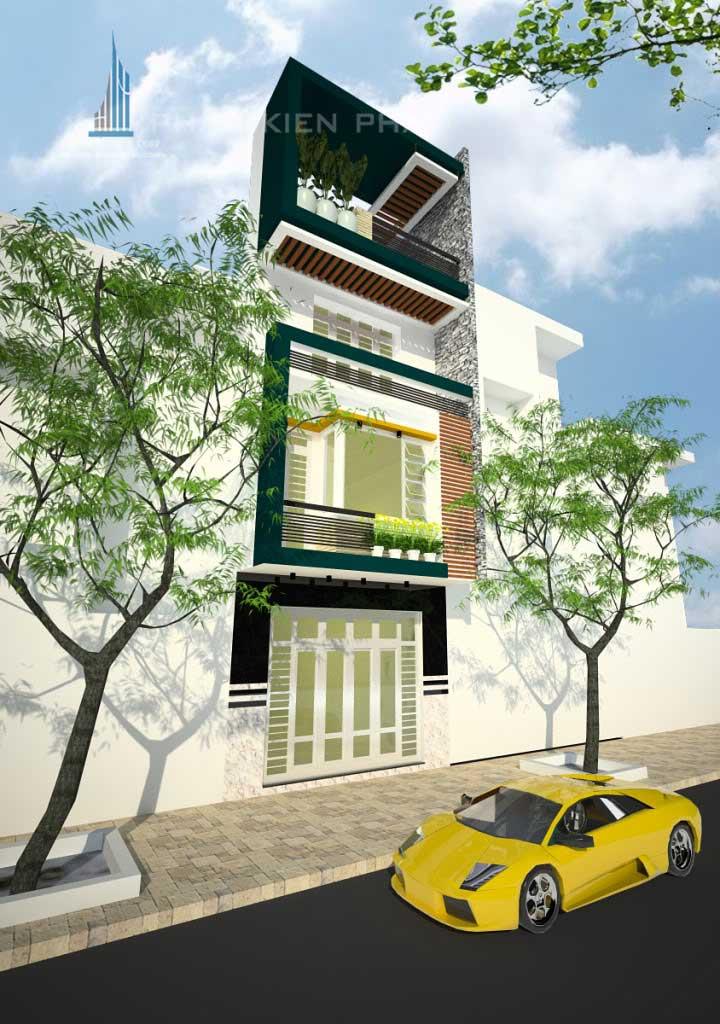 Công trình, Thiết kế xây dựng nhà phố, Anh Trần Văn Phương