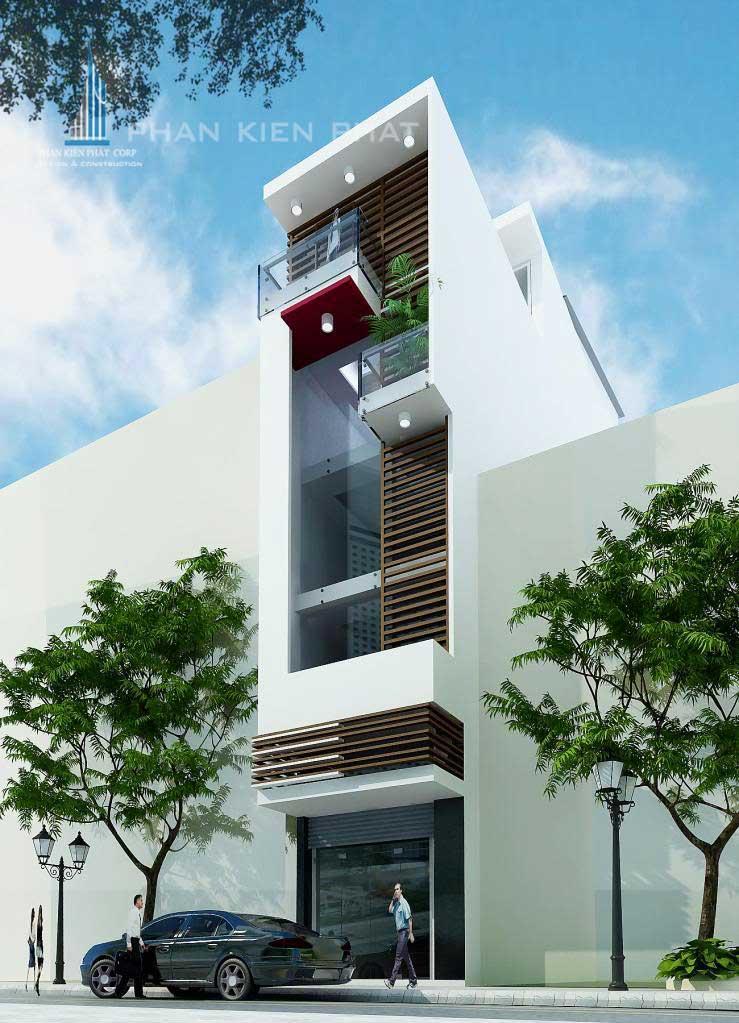 Công trình, Thiết kế xây dựng nhà phố, Anh Nguyễn Văn Sáu