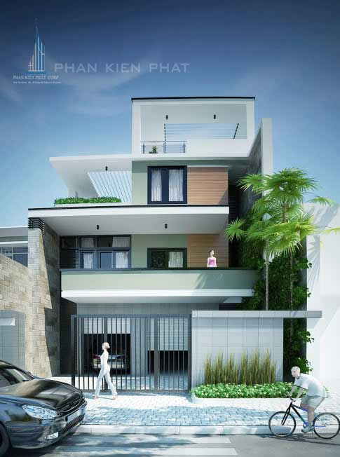 Thiết kế xây dựng nhà đẹp Q.7