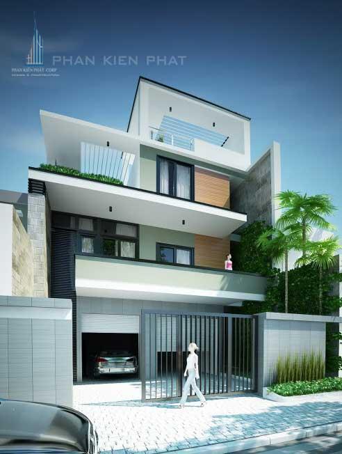 Công trình, Thiết kế xây dựng nhà phố, Anh Lê Châu