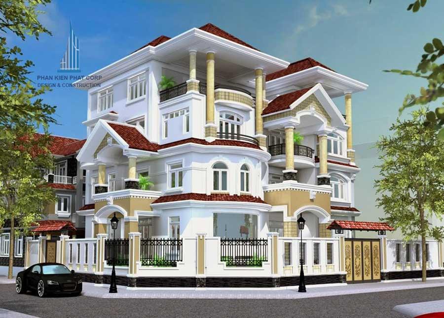 Công trình, Thiết kế xây dựng biệt thự, Anh Phan Đăng Khoa