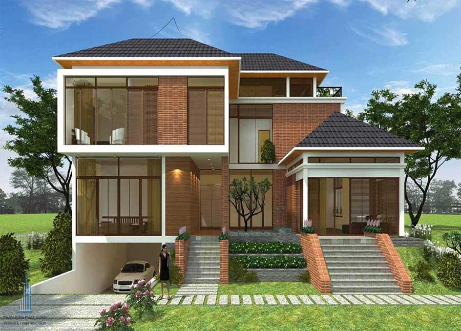 Công trình, Thiết kế xây dựng biệt thự, Anh Đinh Công Ninh