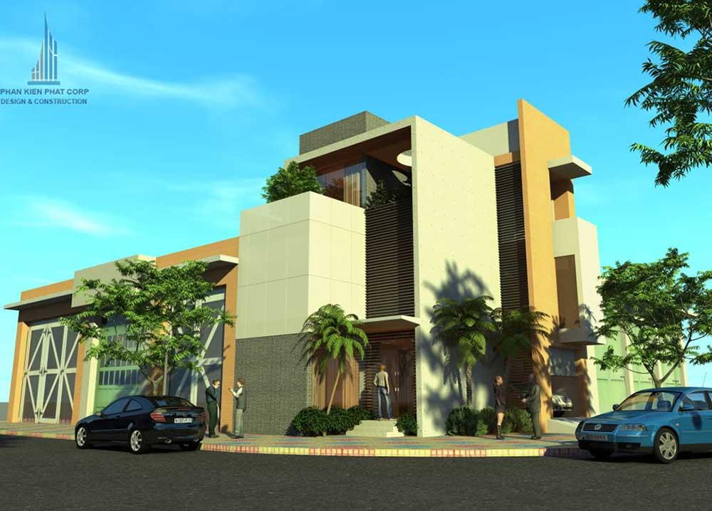 Công trình, Thiết kế xây dựng biệt thự, Anh Đinh Văn Hữu