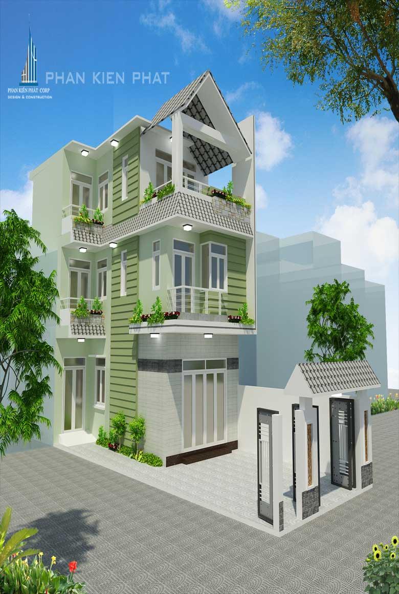 Công trình, Thiết kế xây dựng nhà phố, Chú Trần Danh Chiến - Đại Tá
