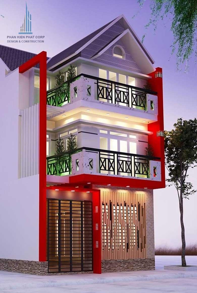 Công trình, Thiết kế xây dựng nhà phố, Anh Bùi Minh Huấn