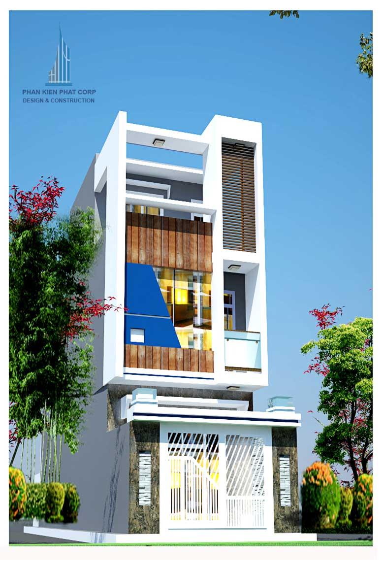 Công trình, Thiết kế xây dựng nhà phố, Anh Nguyễn Việt Tiến