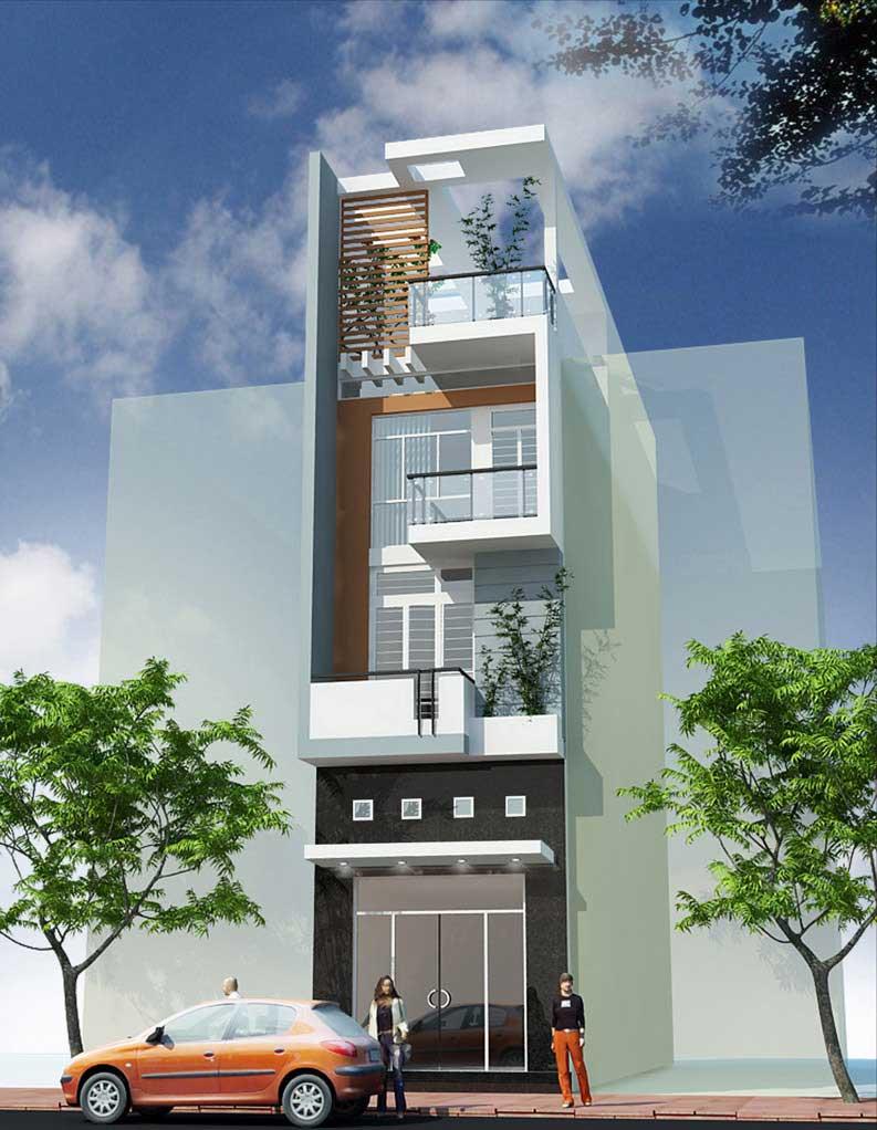 Công trình, Thiết kế xây dựng nhà phố, Chị Nguyễn Minh Như