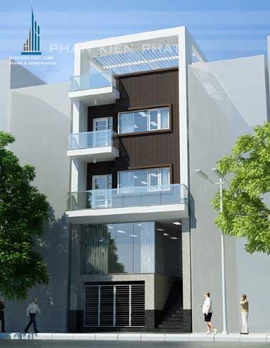 Công trình, Thiết kế xây dựng nhà phố, Anh Cao Thanh Sang