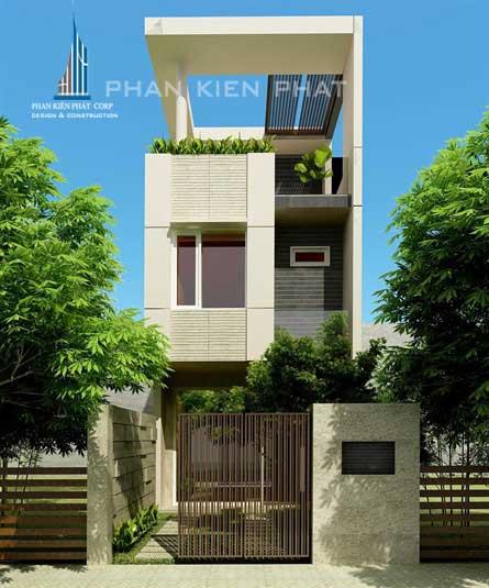 Công trình, Thiết kế xây dựng nhà phố, Anh Lê Minh