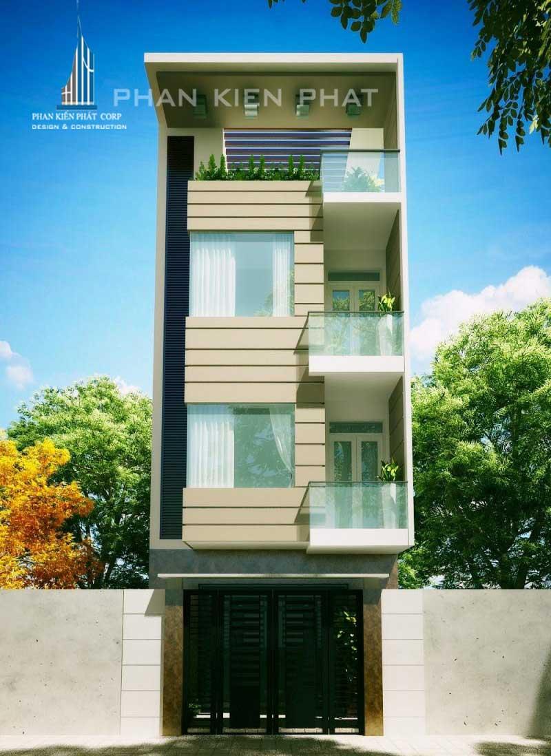 Công trình, Thiết kế xây dựng nhà phố, Anh Lê Văn Hiệp