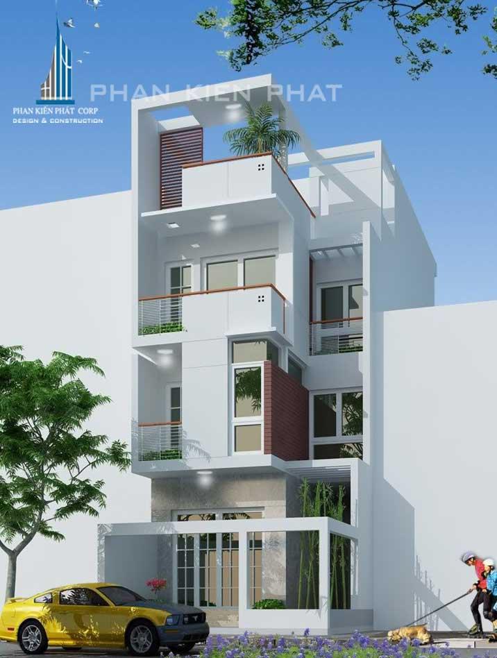Công trình, Thiết kế xây dựng nhà phố, Anh Trần Văn Tuấn