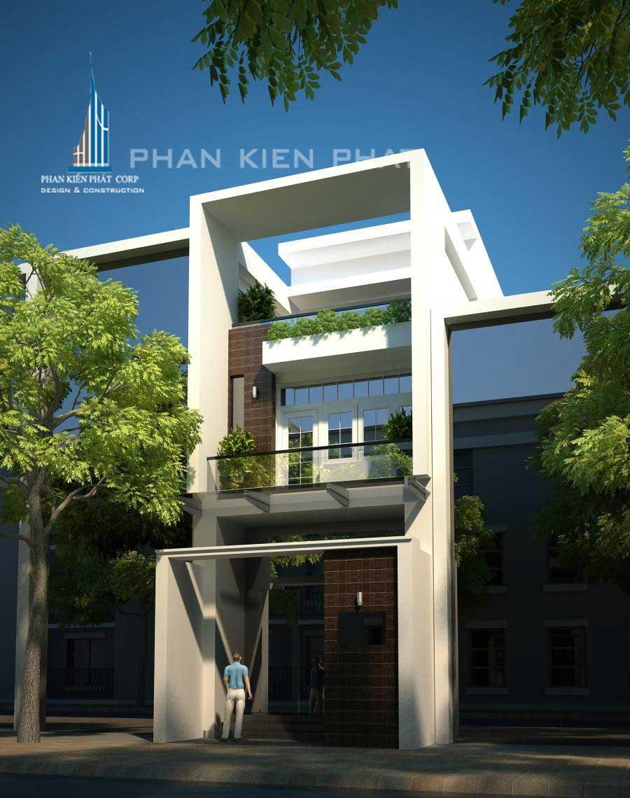 Công trình, Thiết kế xây dựng nhà phố, Anh Lê Minh Xuân