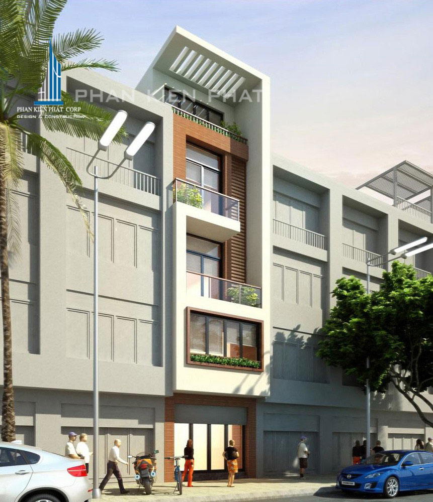 Công trình, Thiết kế xây dựng nhà phố, Anh Cao Văn Đạt