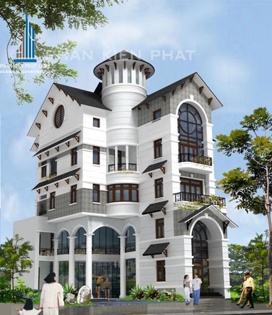 Công trình, Thiết kế xây dựng nhà phố, Chú Đặng Hồng Minh