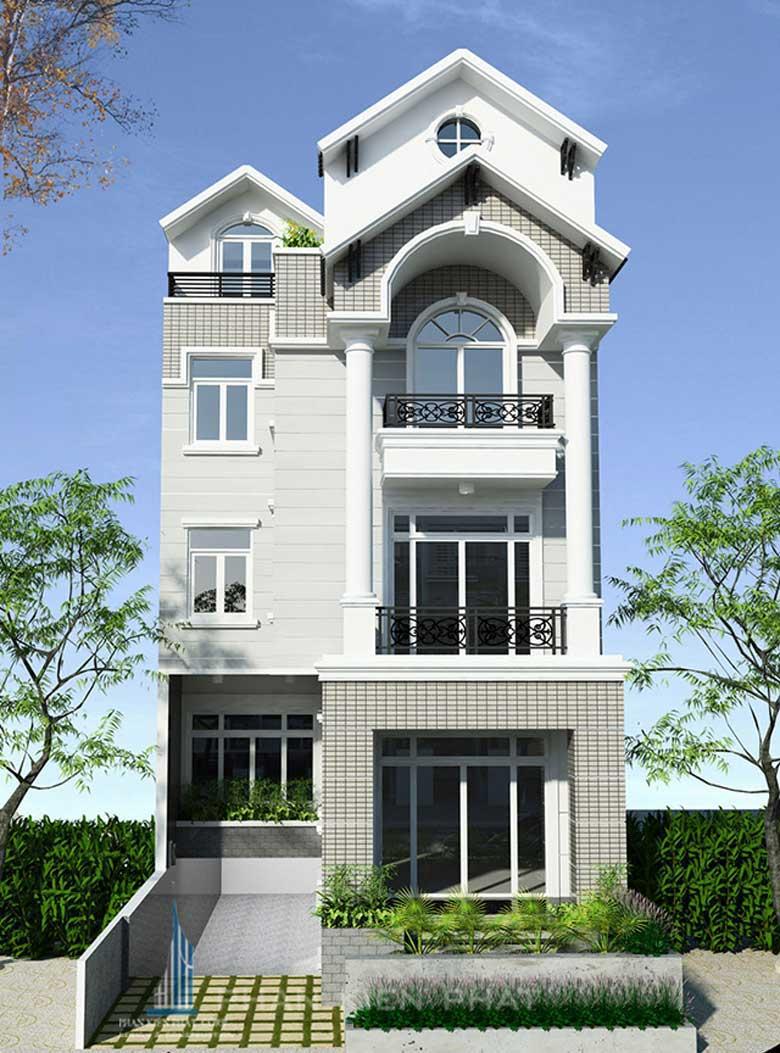 Công trình, Thiết kế xây dựng nhà phố, Anh Lê Minh Sơn