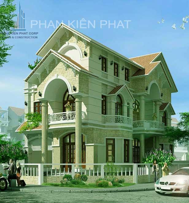 Công trình, Thiết kế xây dựng biệt thự, Anh Trần Ngọc Cảnh
