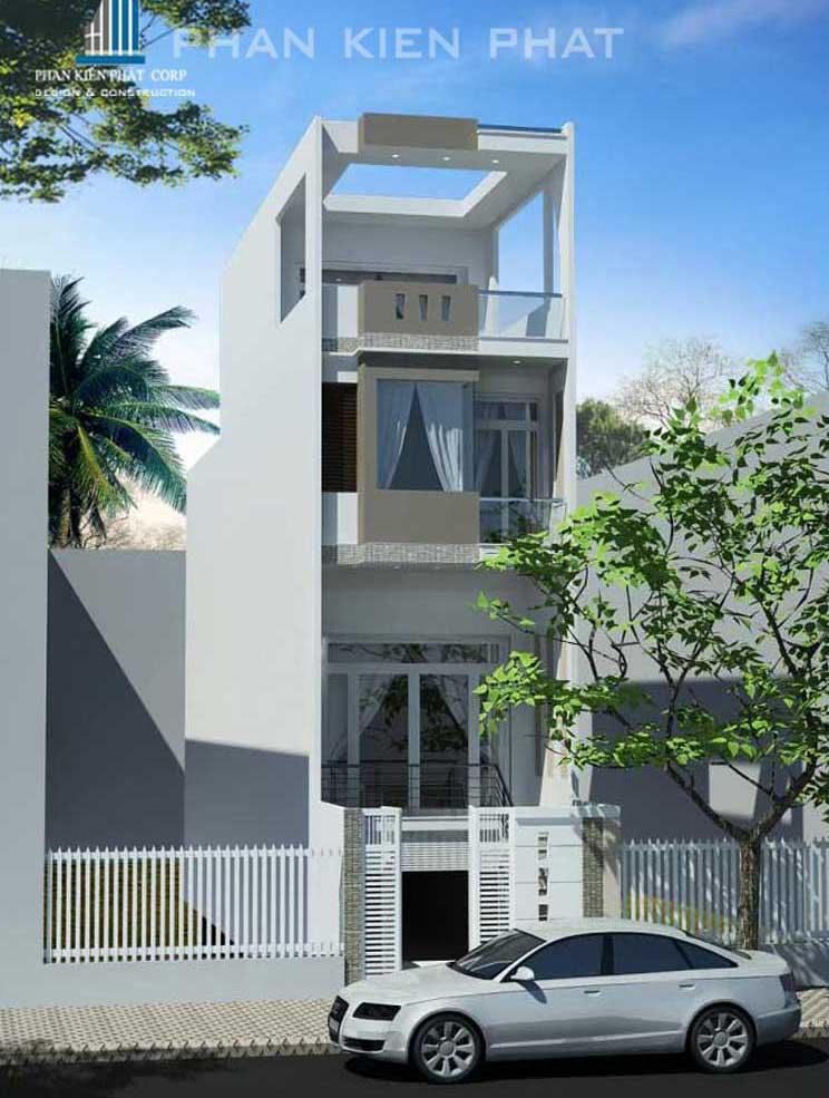 Công trình, Thiết kế xây dựng nhà phố, Chị Phạm Tú Trâm