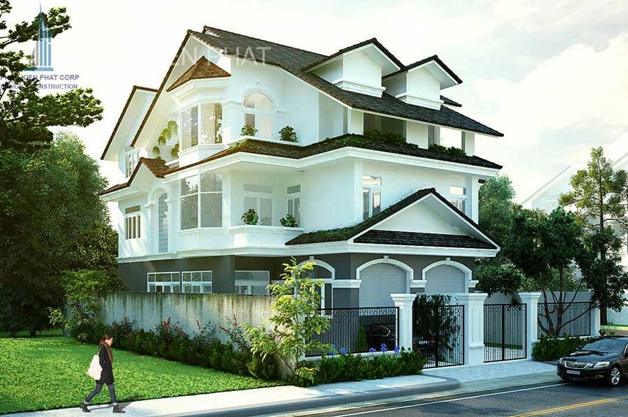 Công trình, Thiết kế xây dựng biệt thự, Anh Phạm Xuân Thông
