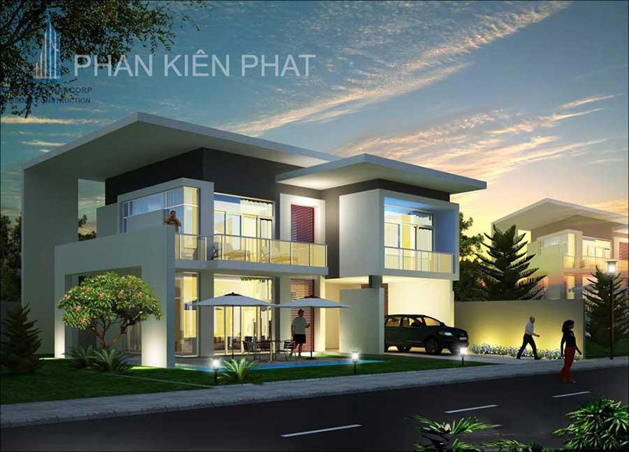 Công trình, Thiết kế xây dựng biệt thự, Anh Lê Bảo Thanh