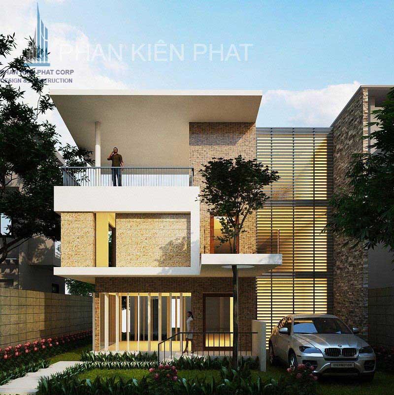 Công trình, Thiết kế xây dựng biệt thự, Anh Lưu thế Quang