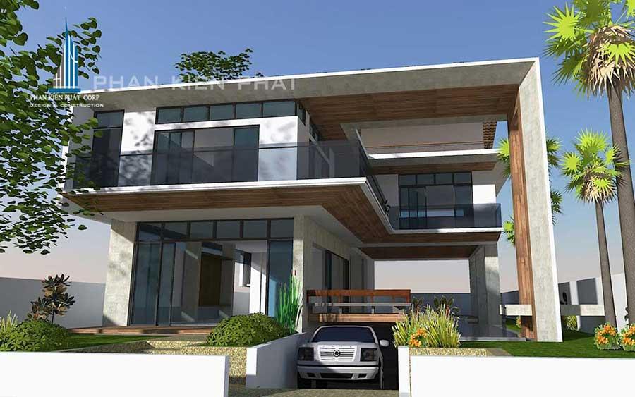 Công trình, Thiết kế xây dựng biệt thự, Anh Trương Minh Xuân