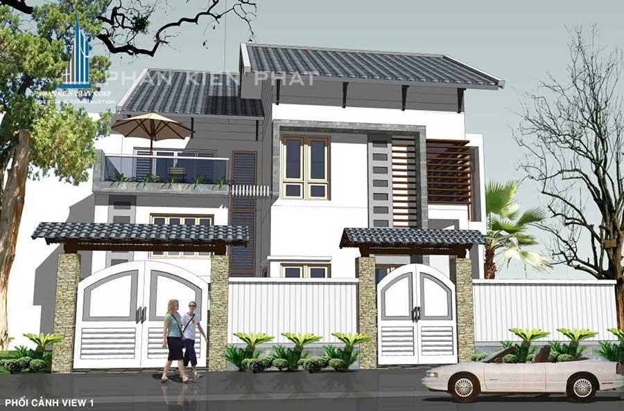 Công trình, Thiết kế xây dựng biệt thự, Anh Nguyễn Gia Bảo
