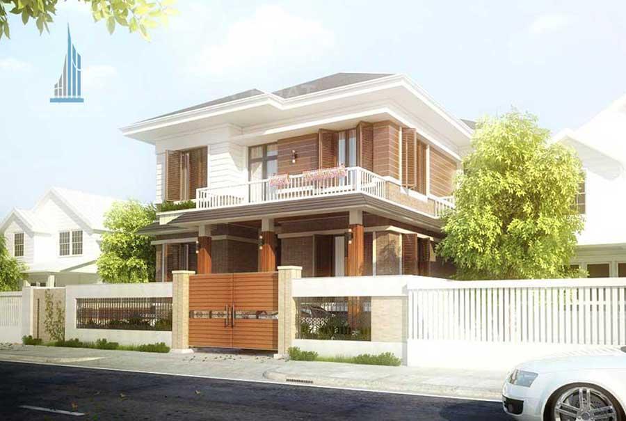 Công trình, Thiết kế xây dựng biệt thự, Anh Lương Mạnh Trí