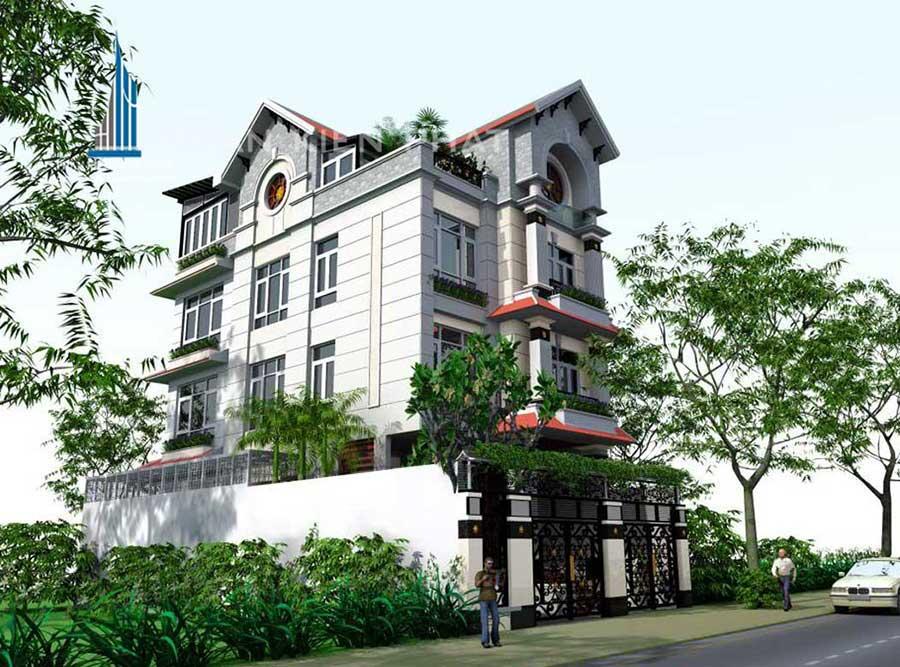 Công trình, Thiết kế xây dựng biệt thự, Cô Trương Thị Xinh