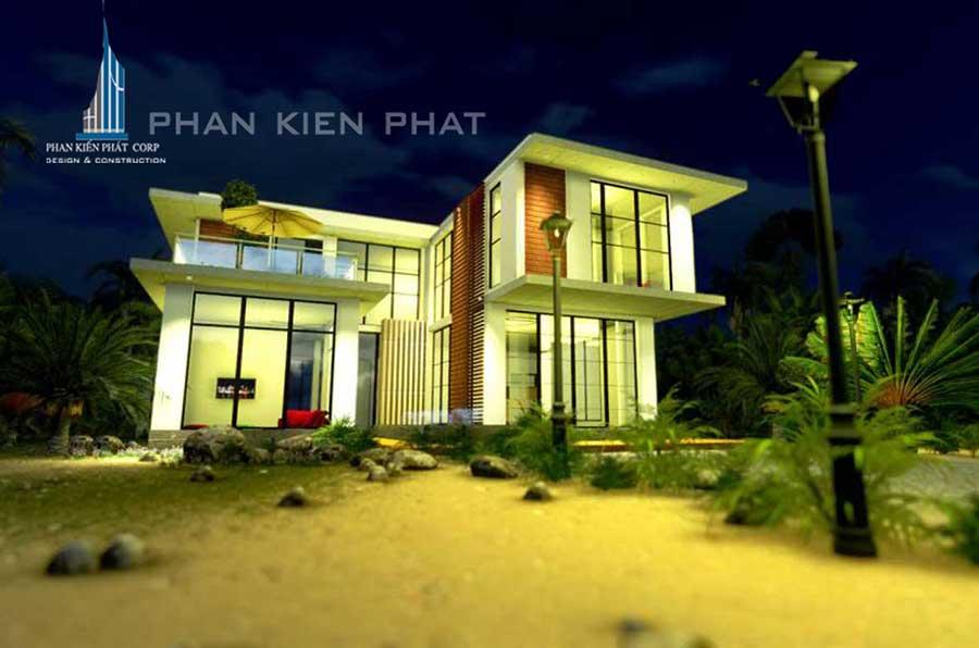 Công trình, Thiết kế xây dựng biệt thự, Anh Nguyễn Tấn Nam