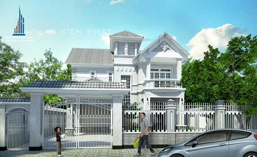 Công trình, Thiết kế xây dựng biệt thự, Chú Nguyễn Hồng Quân