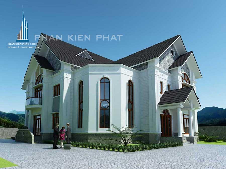 Công trình, Thiết kế xây dựng biệt thự, Anh Nguyễn Văn Cam
