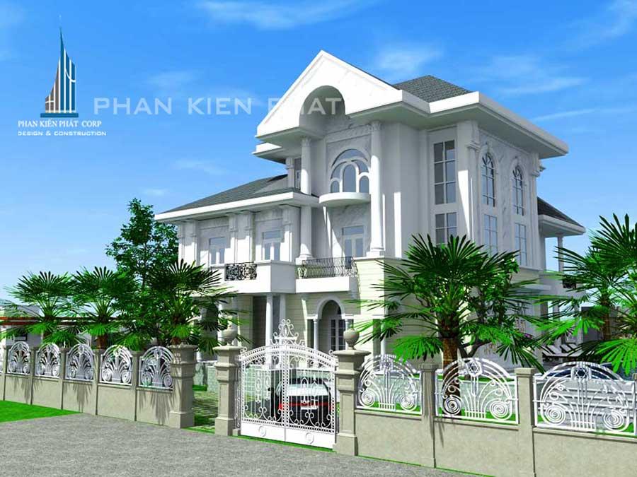 Công trình, Thiết kế xây dựng biệt thự, Chú Phan Tuấn Minh