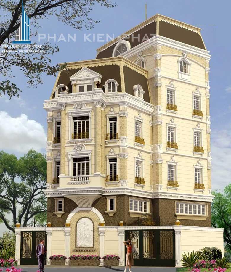 Công trình, Thiết kế xây dựng nhà phố, Bác Bùi Văn Bổng