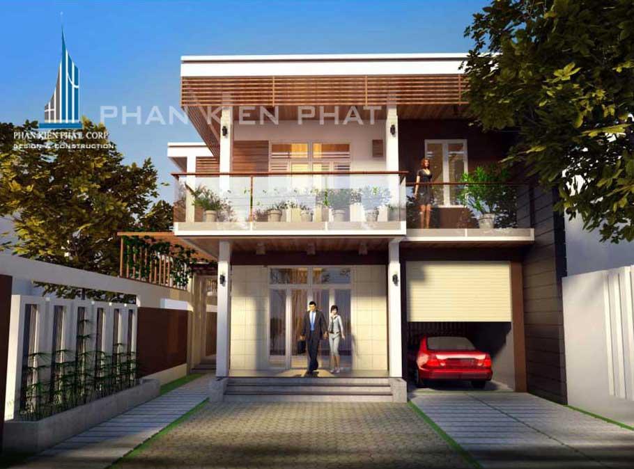 Công trình, Thiết kế xây dựng biệt thự, Anh Trần Thành Phương