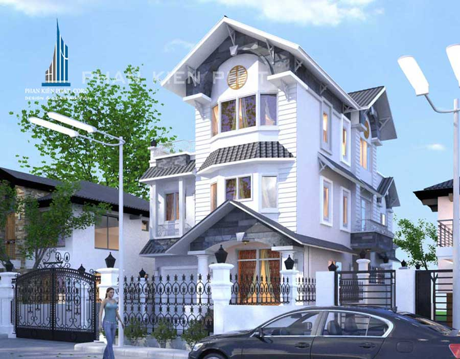 Công trình, Thiết kế xây dựng biệt thự, Chị Lê Thị Thanh Nhàn