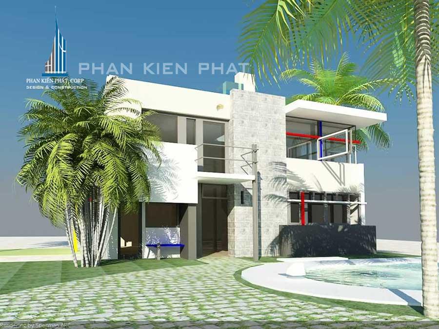 Công trình, Thiết kế xây dựng biệt thự, Anh Trương Thanh Phong