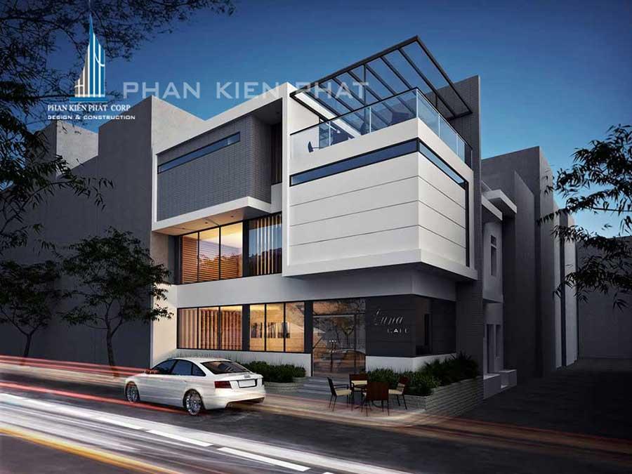 Công trình, Thiết kế xây dựng biệt thự, Anh Phan Khang