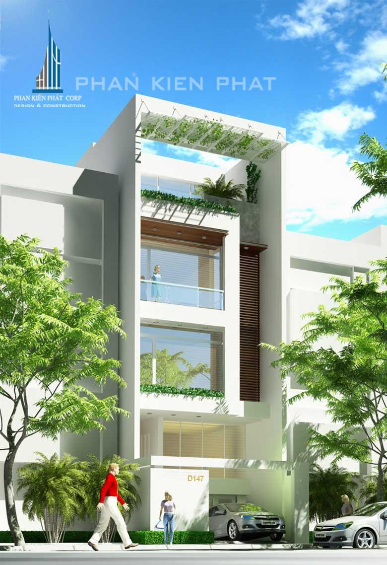 Công trình, Thiết kế xây dựng nhà phố, Chị Lê Thị Ánh Tuyết