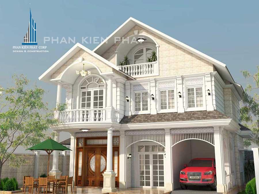 Công trình, Thiết kế xây dựng biệt thự, Chị Đỗ Thị Kim Phụng
