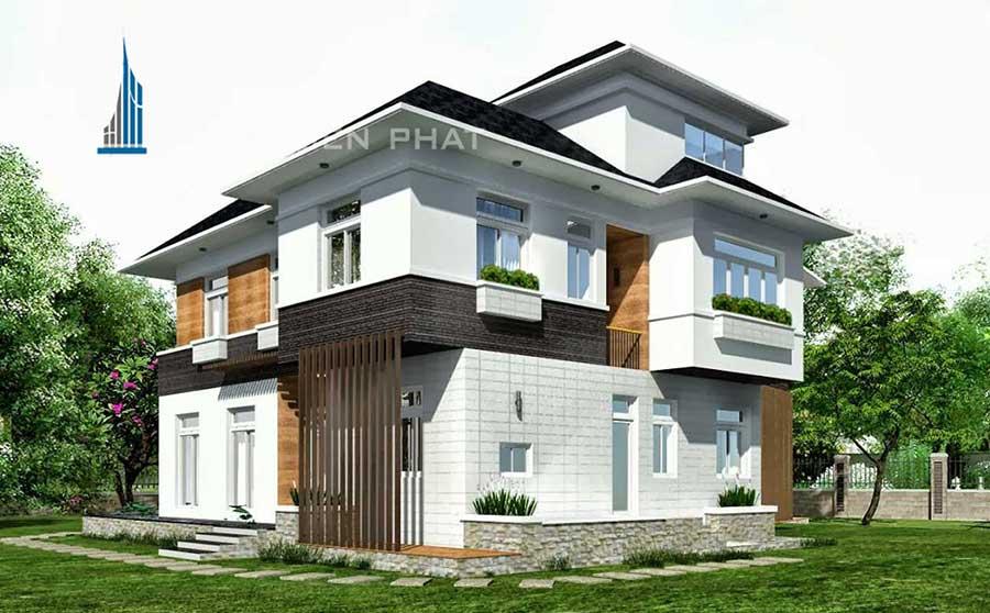 Công trình, Thiết kế xây dựng biệt thự, Chị Phan Như Lan