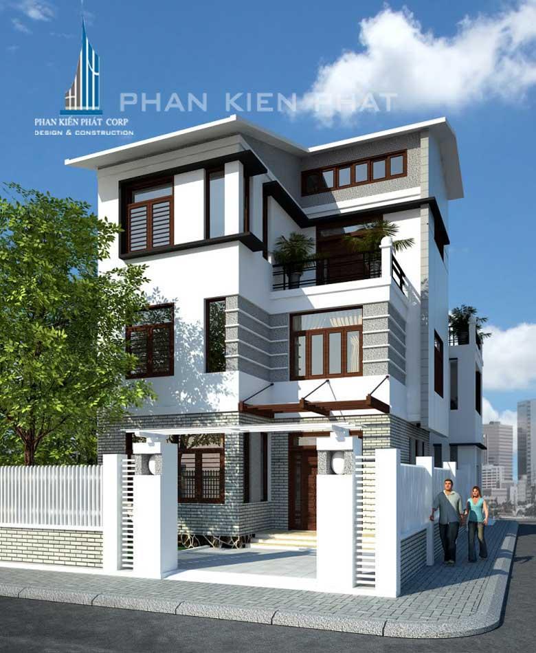 Công trình, Thiết kế xây dựng nhà phố, Anh Đoàn Thiên