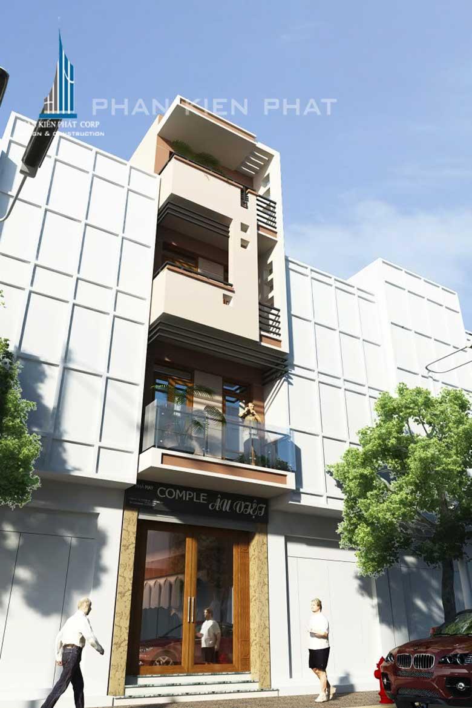 Công trình, Thiết kế xây dựng nhà phố, Anh Trần Minh Thăng