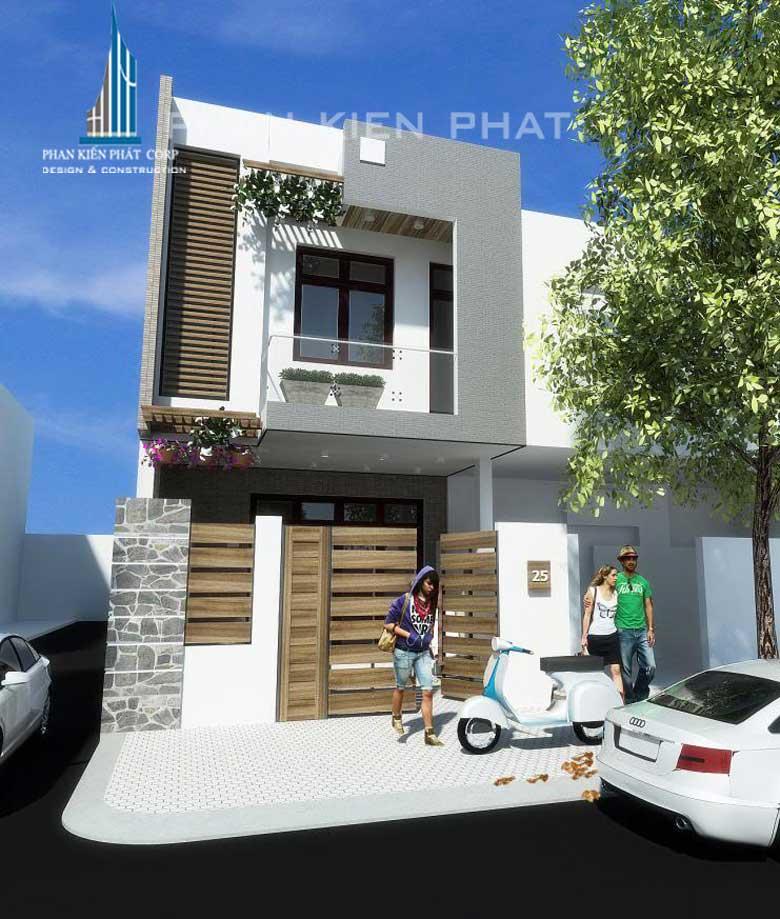 Công trình, Thiết kế xây dựng nhà phố, Cô Nhuyễn Thị Út
